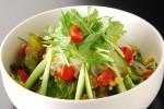 冷え対策は生野菜サラダで