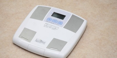 モデル体型になるためには体重計にのっていますか