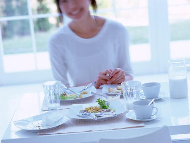 ダイエットには朝食