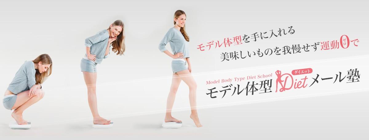 モデル体型を手に入れる美味しいものを我慢せず運動0でモデル体型ダイエットメール塾